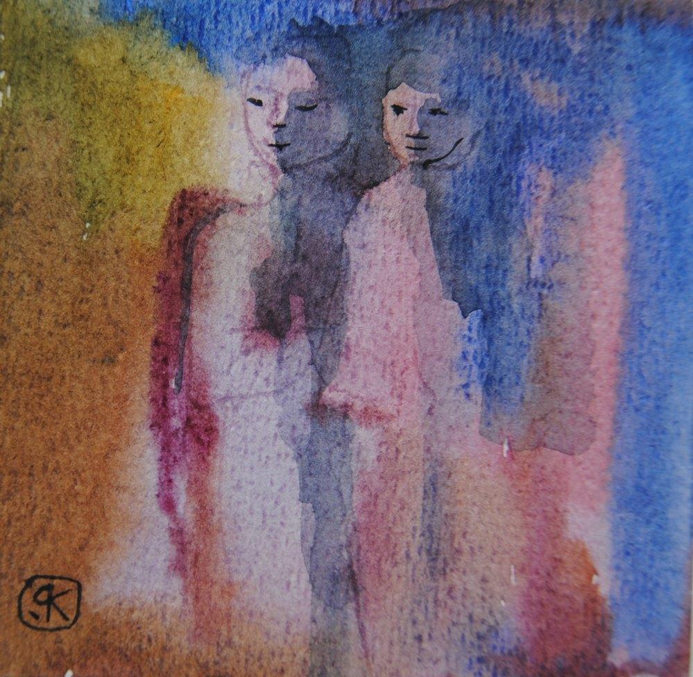 Galerie en ligne tableau aquarelle peinture - Creation tableau photo ...