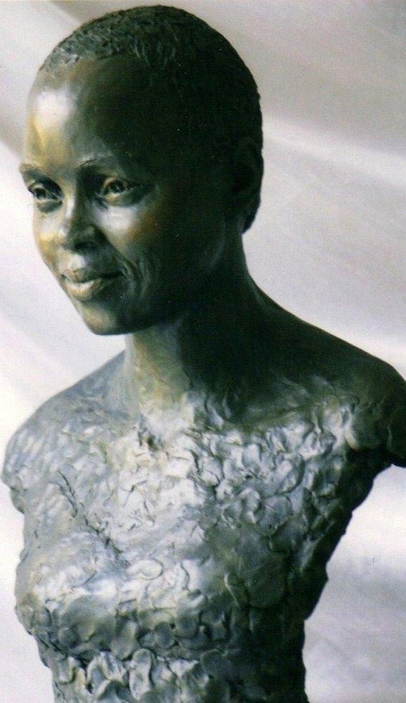 Collection priv e barbara hendricks soprano sculpture terre cuite patin - Daubiere en terre cuite ...